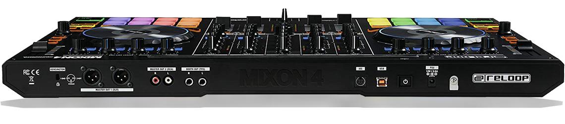 دستگاه دی جی و دی جی کنترلر ریلوپ Reloop Mixon4