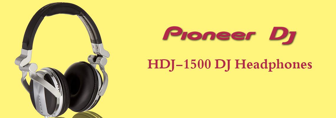 هدفون دی جی پایونیر مشکی نقره ای Pioneer HDJ-1500 S